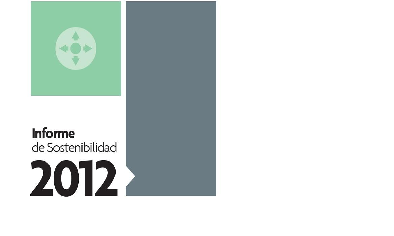 Sostenibilidad 2012